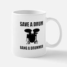Save A Drum Mugs