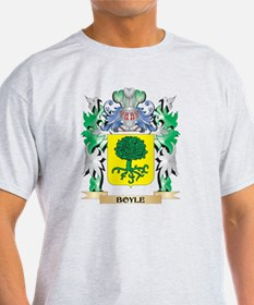 Boyle Coat of Arms - Family Crest T-Shirt