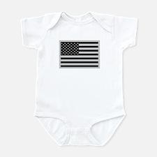 Subdued US Flag Tactical C Infant Bodysuit