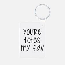 Totes My Fav Keychains