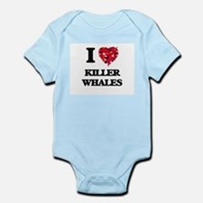 I love Killer Whales Body Suit