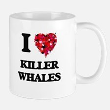 I love Killer Whales Mugs