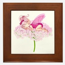 Sleeping Fae- Framed Tile