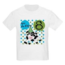Cow 8th Birthday T-Shirt