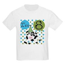 Cow 8th Birthday T-Shirt