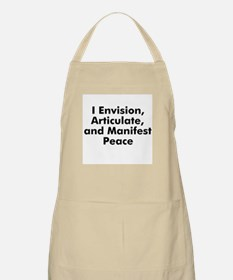 I Envision, Articulate, and M BBQ Apron