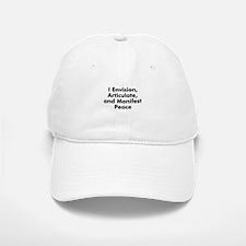 I Envision, Articulate, and M Baseball Baseball Cap