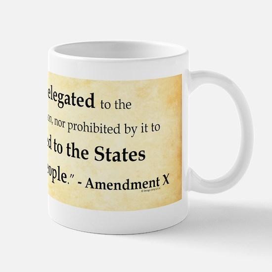 The Tenth Amendment Mugs
