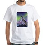 Howling Wolf 2 White T-Shirt