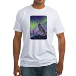 Howling Wolf 2 Fitted T-Shirt