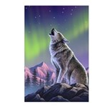 Howling Wolf 2 Postcards (Package of 8)