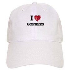 I love Gophers Baseball Cap