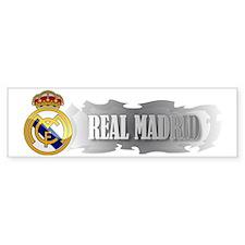 Real Madrid Elegant Bumper Bumper Sticker