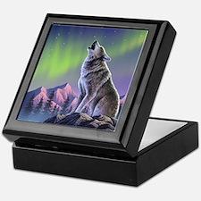 Howling Wolf 2 Keepsake Box