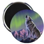 Howling Wolf 2 Magnet