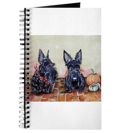 Autumn Scotties Journal