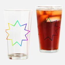 Bahai Symbol Drinking Glass