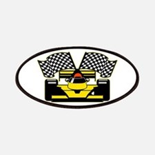 YELLOW RACECAR Patch