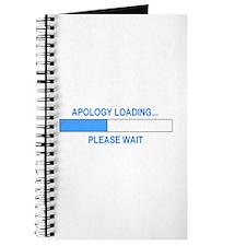 APOLOGY LOADING... Journal