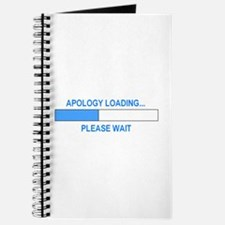 APOLOGY LOADING... Journal