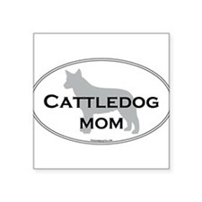 "Unique Cattle breeds Square Sticker 3"" x 3"""