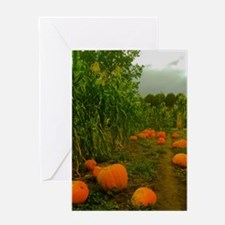 Pumpkin Patch Greeting Cards