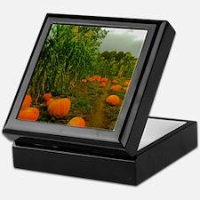 Pumpkin Patch Keepsake Box