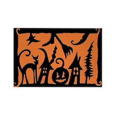 Cute Halloween Rectangle Magnet