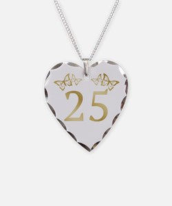 25th Birthday Anniversary Necklace