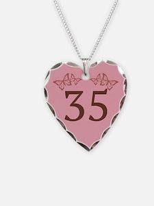 35th Birthday Anniversary Necklace