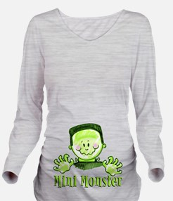 Mini Monster .png Long Sleeve Maternity T-Shirt