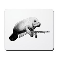 No Manatee Mousepad