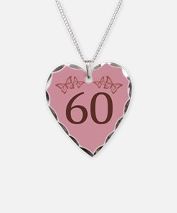 60th Birthday Anniversary Necklace