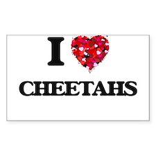 I love Cheetahs Decal