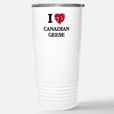 I love Canadian Geese Travel Mug