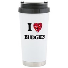 I love Budgies Travel Mug