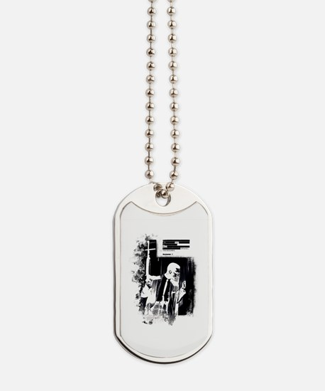 By any means necessary - MalcolmX Dog Tags