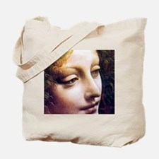 Leonardo da Vinci - Angel (detail) Tote Bag