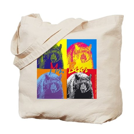Mr. Bear - Warhol Tote Bag