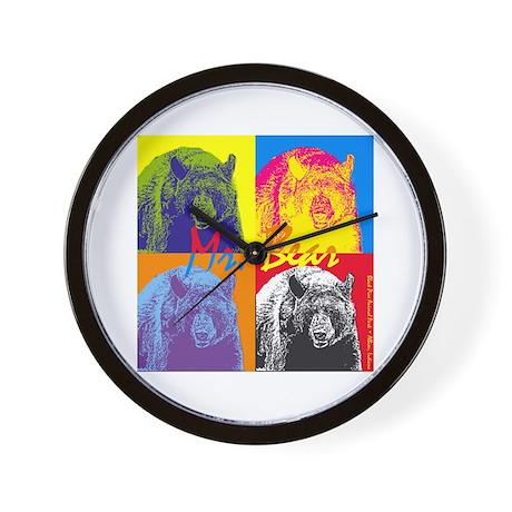 Mr. Bear - Warhol Wall Clock