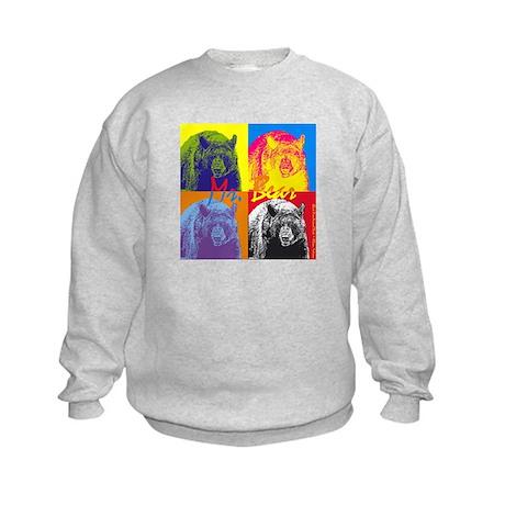 Mr. Bear - Warhol Kids Sweatshirt
