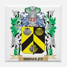 Brindley Coat of Arms - Family Crest Tile Coaster