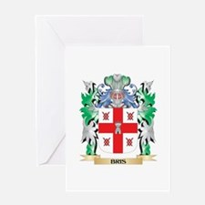 Bris Coat of Arms - Family Crest Greeting Cards