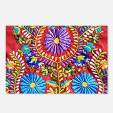 Mexican Embroidery  Postcards (Package of 8)