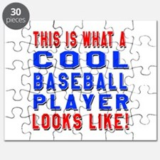 Baseball Player Looks Like Puzzle