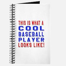 Baseball Player Looks Like Journal
