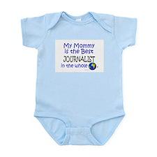 Best Journalist In The World (Mommy) Infant Bodysu