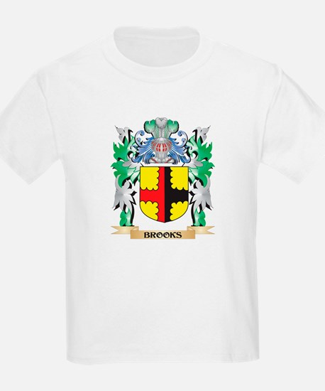Brooks Coat of Arms - Family Crest T-Shirt