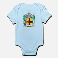 Brooks Coat of Arms - Family Crest Body Suit