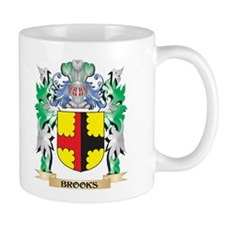 Brooks Coat of Arms - Family Crest Mugs